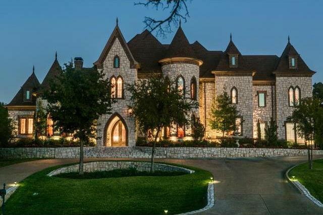 Custom Castle Style Homes J Lambert Custom Homes