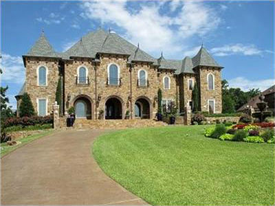 Castle style luxury homes j lambert custom homes for Castle style homes