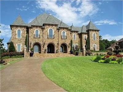 Castle style luxury homes j lambert custom homes for Castle modular homes